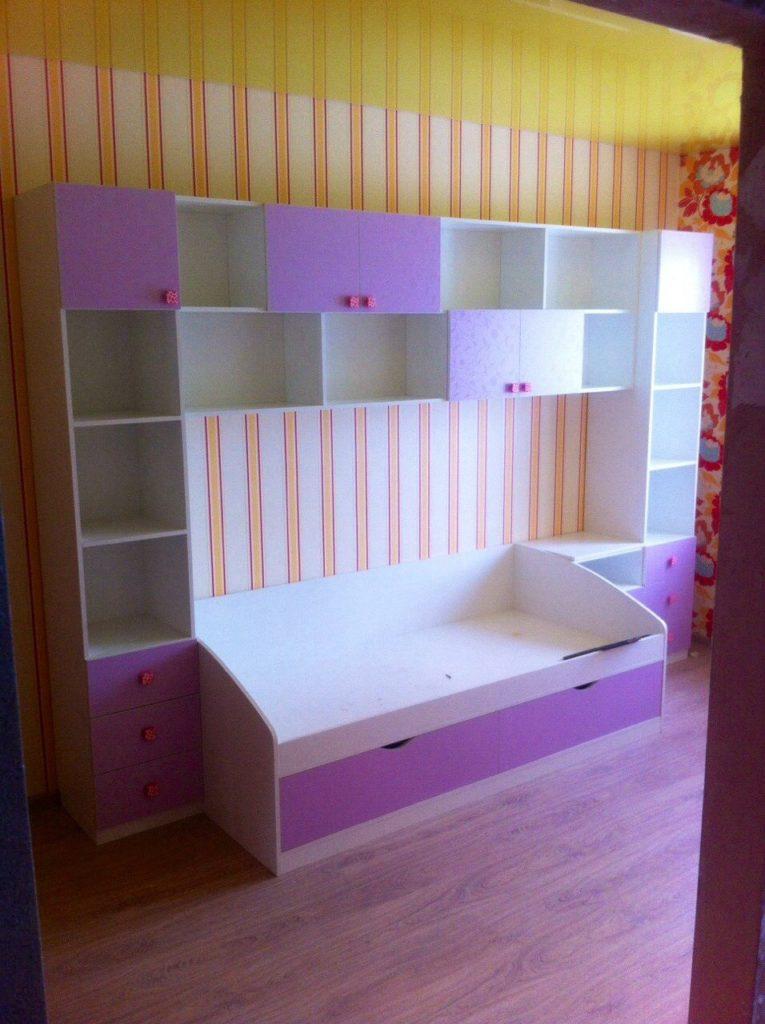 Мебель для детской Золотое сечение4